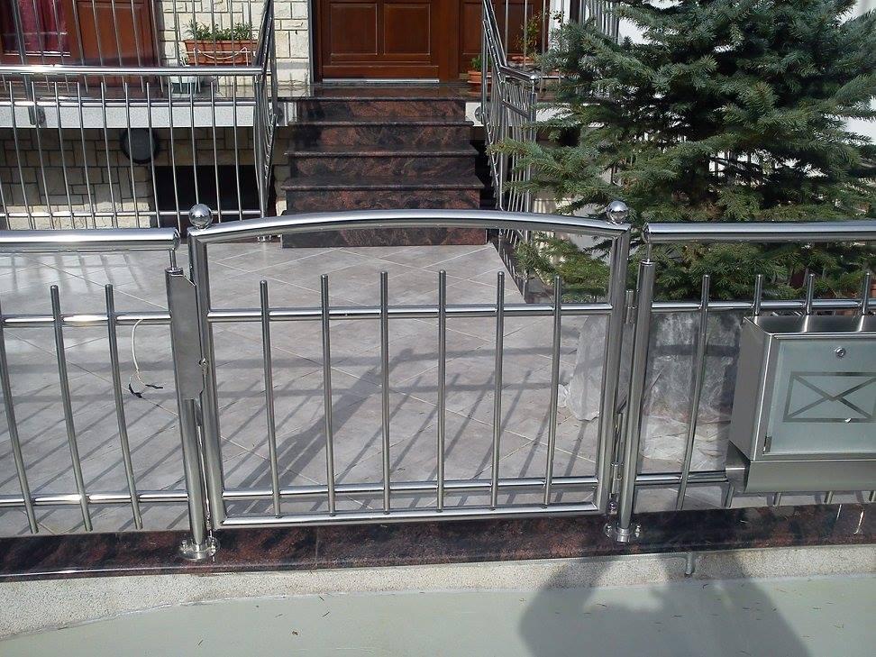 Inox ograde i dvorišna vrata, Punta Nobis, Umag, Istra